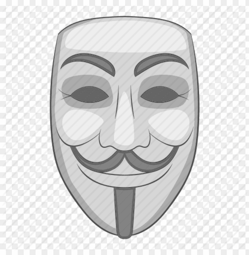 hacker mask PNG image with transparent background | TOPpng