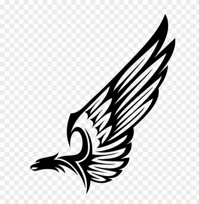 free PNG half wings png hd - eagle wings vector PNG image with transparent background PNG images transparent