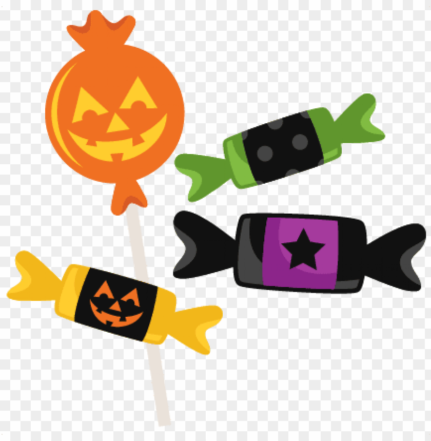 free PNG halloween candy clipart png - halloween candy cartoon PNG image with transparent background PNG images transparent