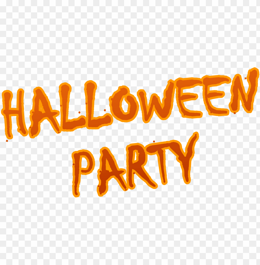 free PNG halloween party logo PNG image with transparent background PNG images transparent