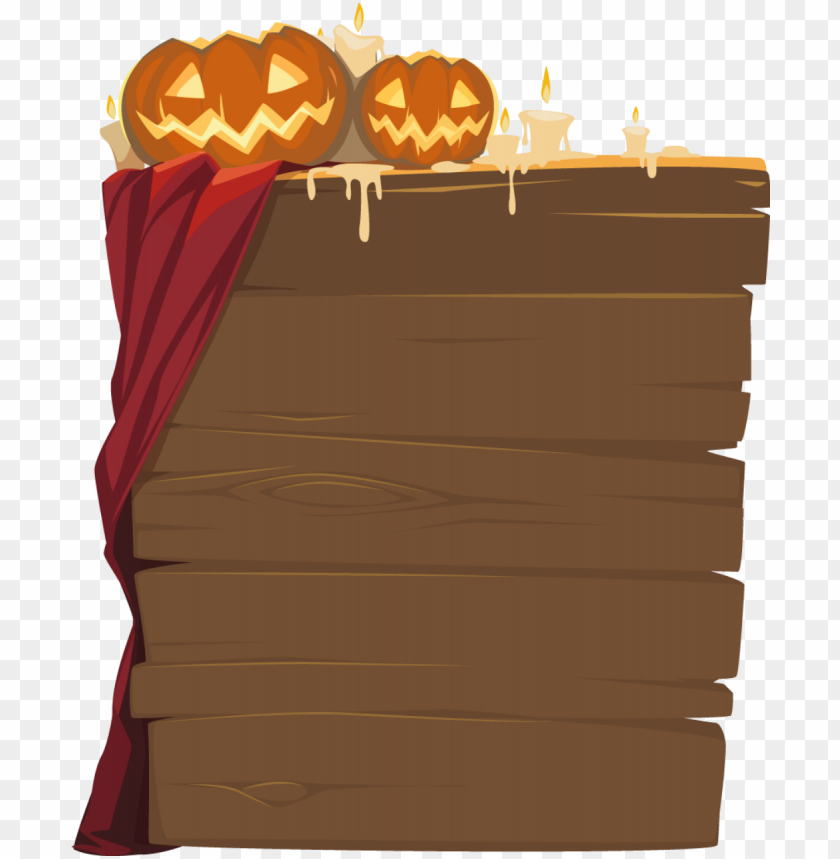 free PNG halloween wooden sign PNG image with transparent background PNG images transparent