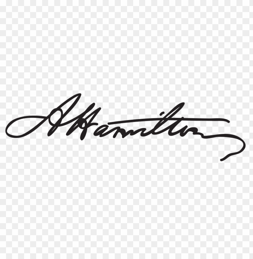 Hamilton Signature Png Image With Transparent Background Toppng