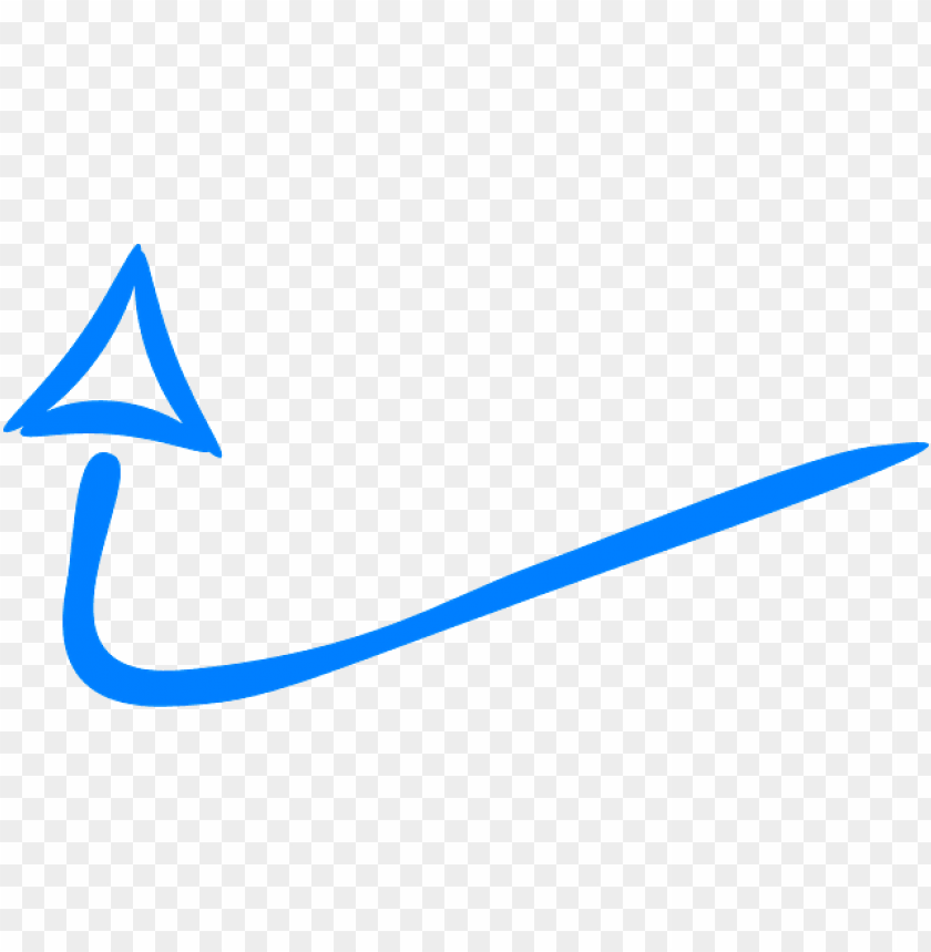 free PNG hand drawn arrow blue PNG image with transparent background PNG images transparent