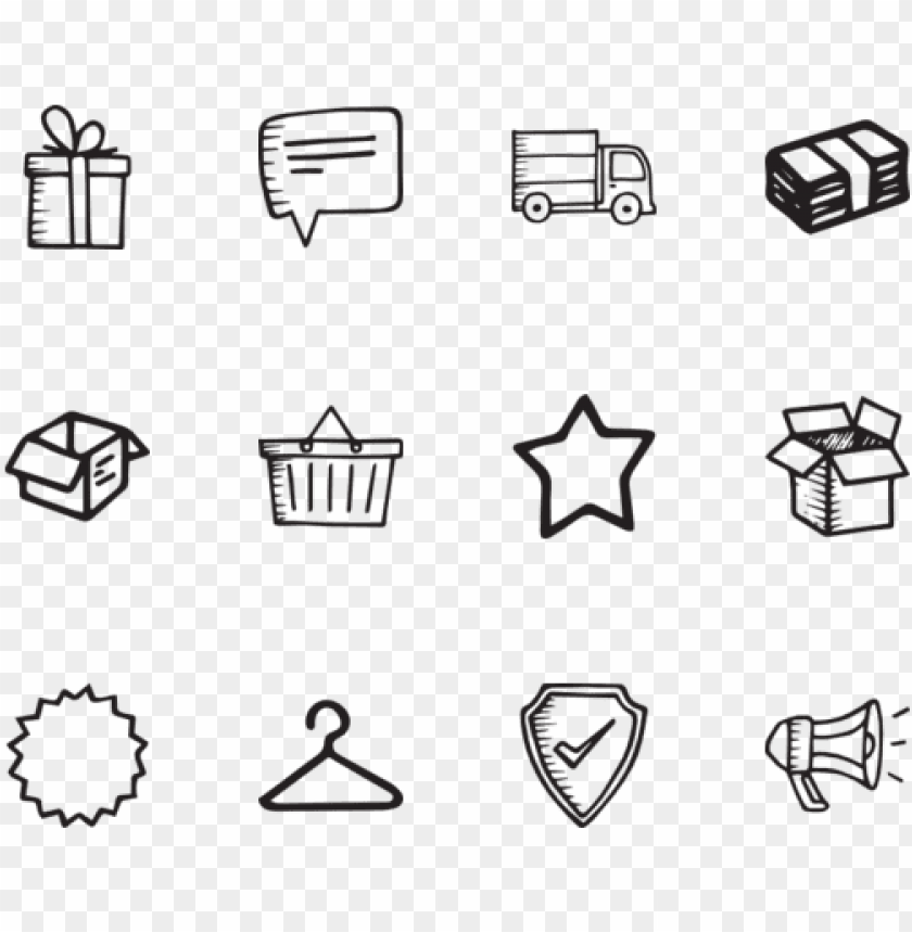 free PNG hand drawn arrows 100 free icons - hand drawn package icon png - Free PNG Images PNG images transparent