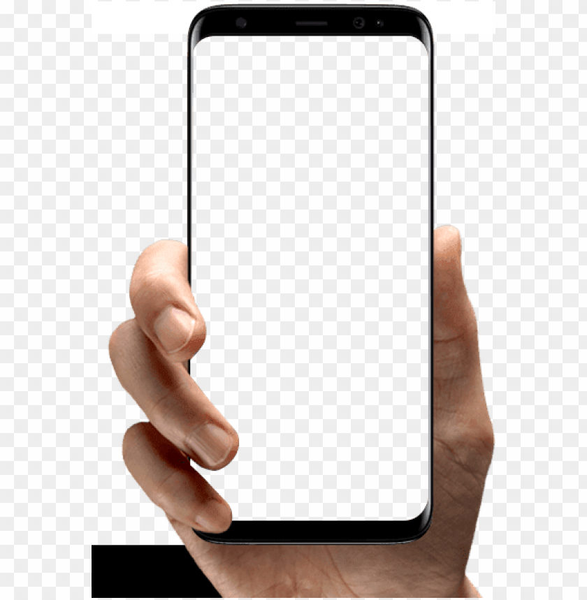 Hand Holding Phone Png Image With Transparent Background Toppng