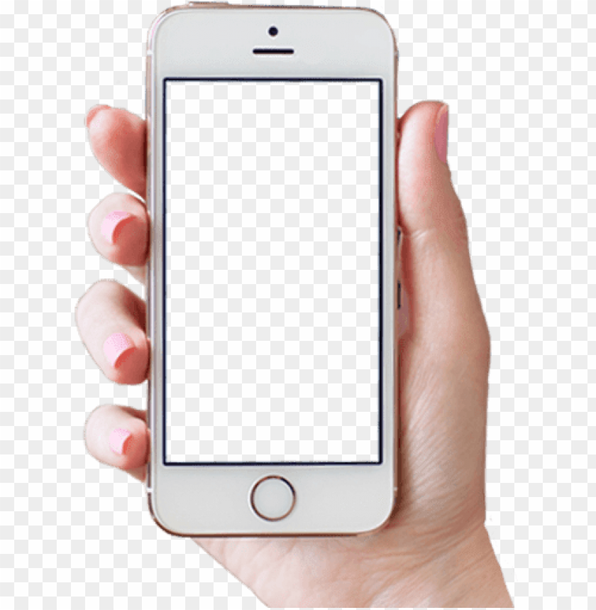 Hand Holding Phone Png Woma Png Image With Transparent Background