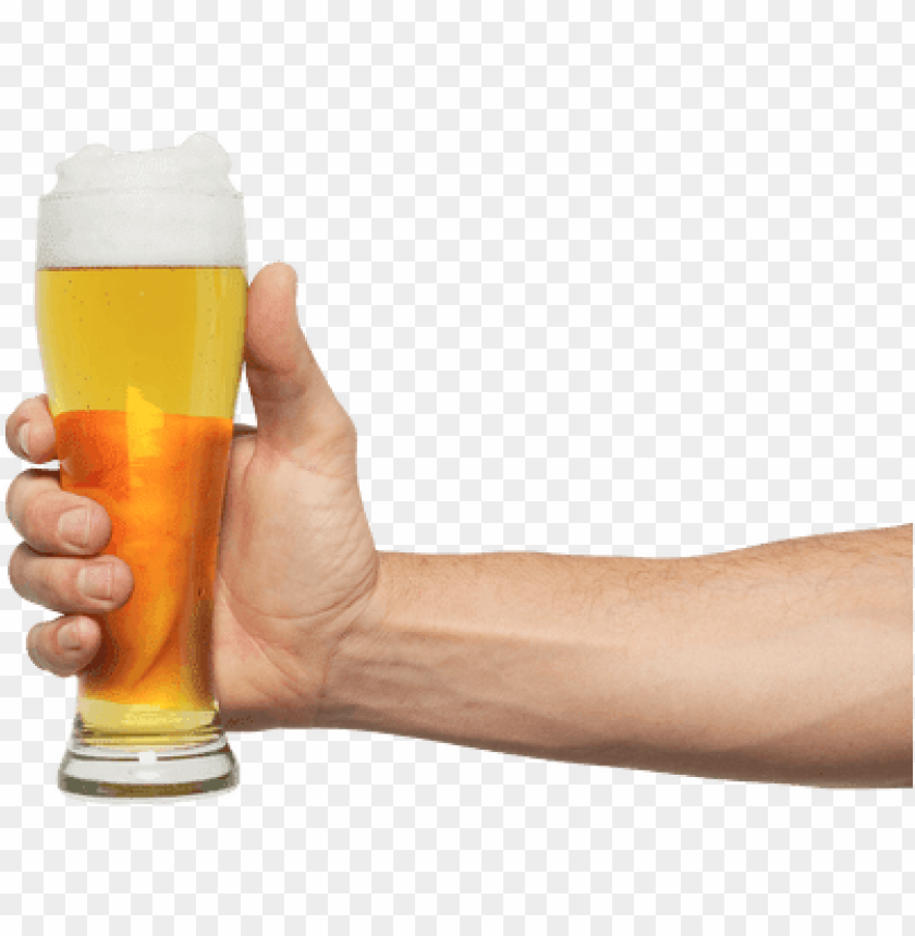free PNG hand holding pint beer - hand holding beer PNG image with transparent background PNG images transparent