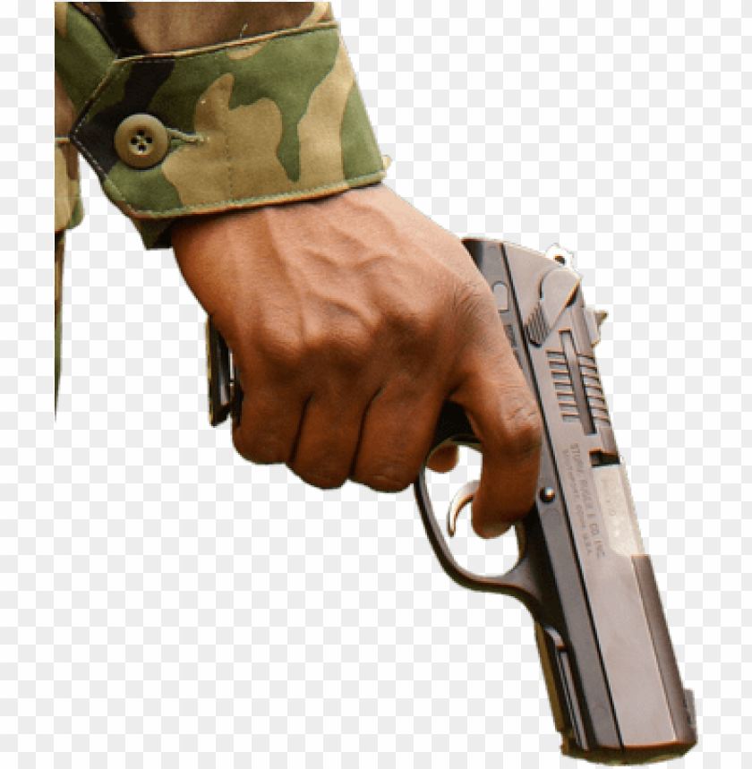 free PNG hand holding shotgun png clip art black and white - hand on gun PNG image with transparent background PNG images transparent