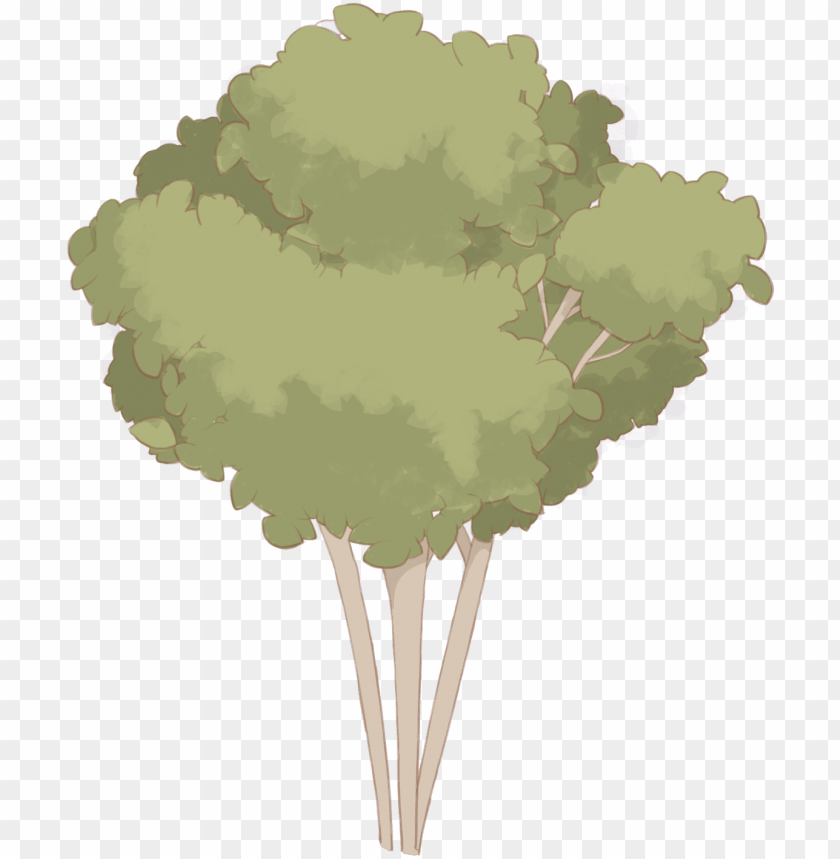 free PNG hand painted plants flowers trees png and psd - plane PNG image with transparent background PNG images transparent