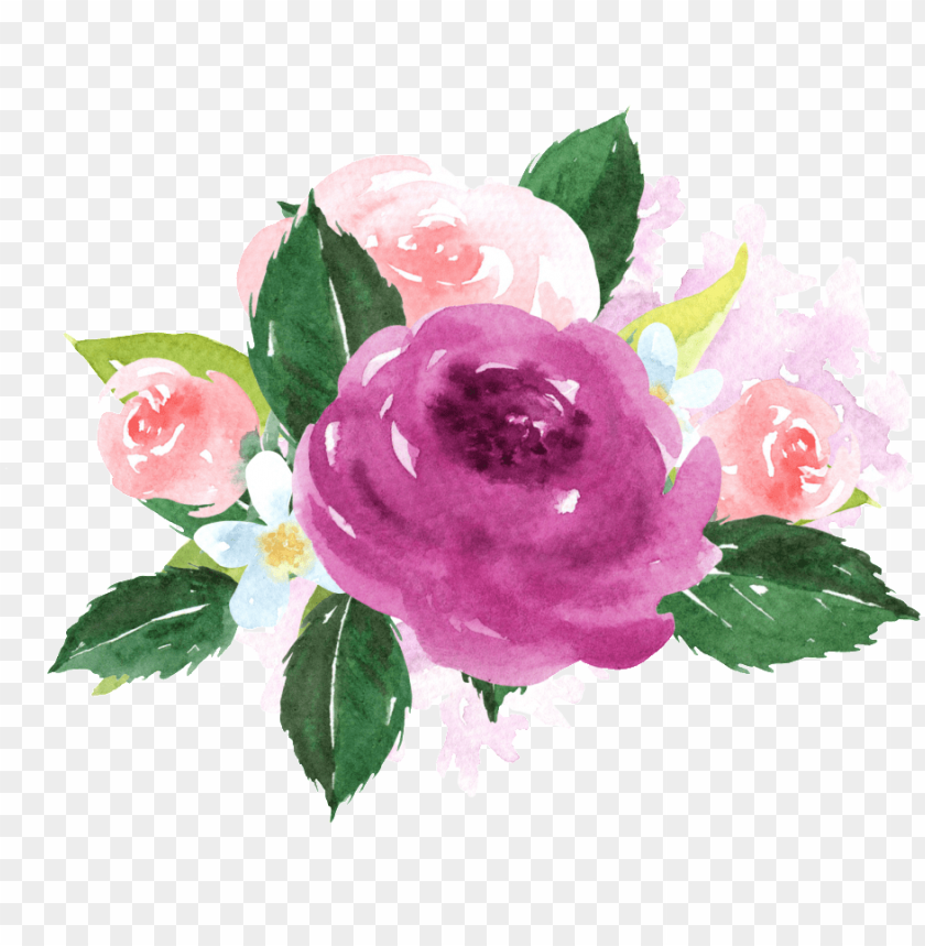 free PNG hand painted purple watercolor flower png transparent - bullet journal for dog lovers fawn french bulldog i PNG image with transparent background PNG images transparent