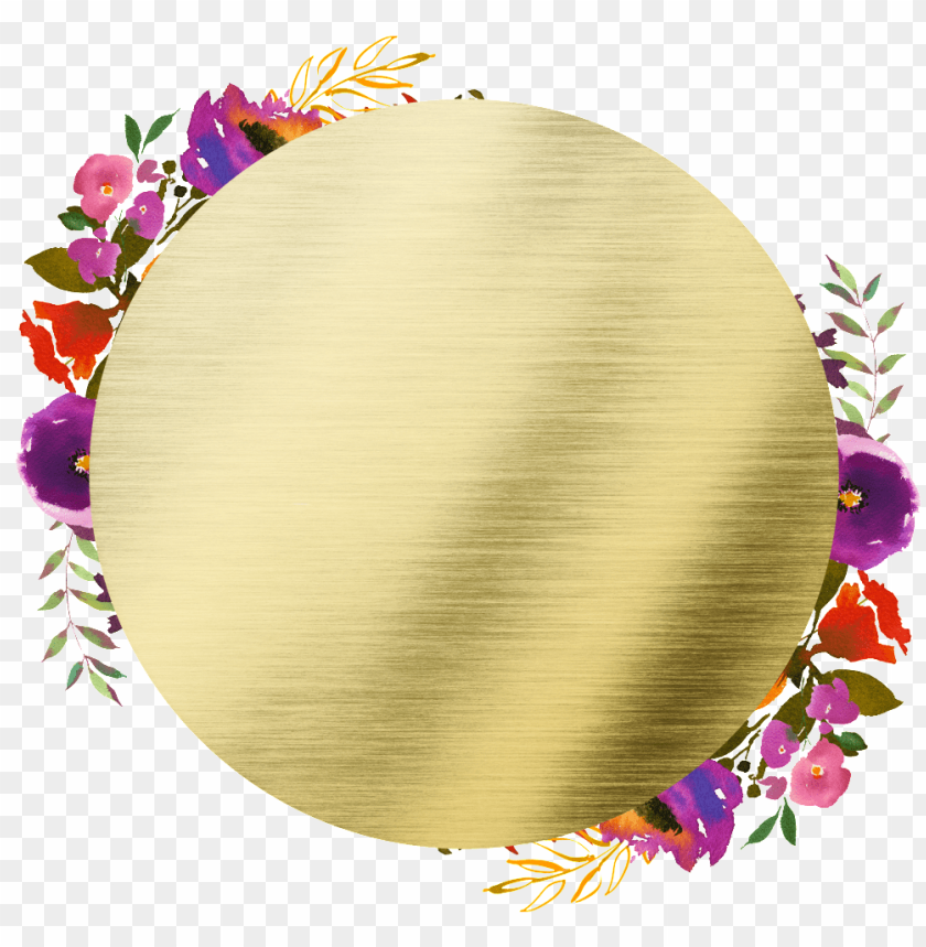 free PNG hand painted round frame back png transparent - portable network graphics PNG image with transparent background PNG images transparent