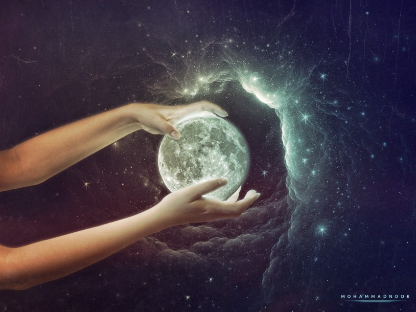 free PNG hands, planet, space, galaxy background PNG images transparent