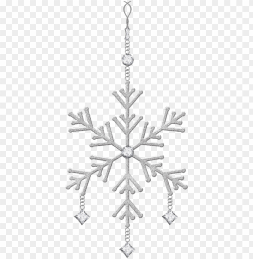 free PNG hanging snowflake christmas ornament PNG Images PNG images transparent