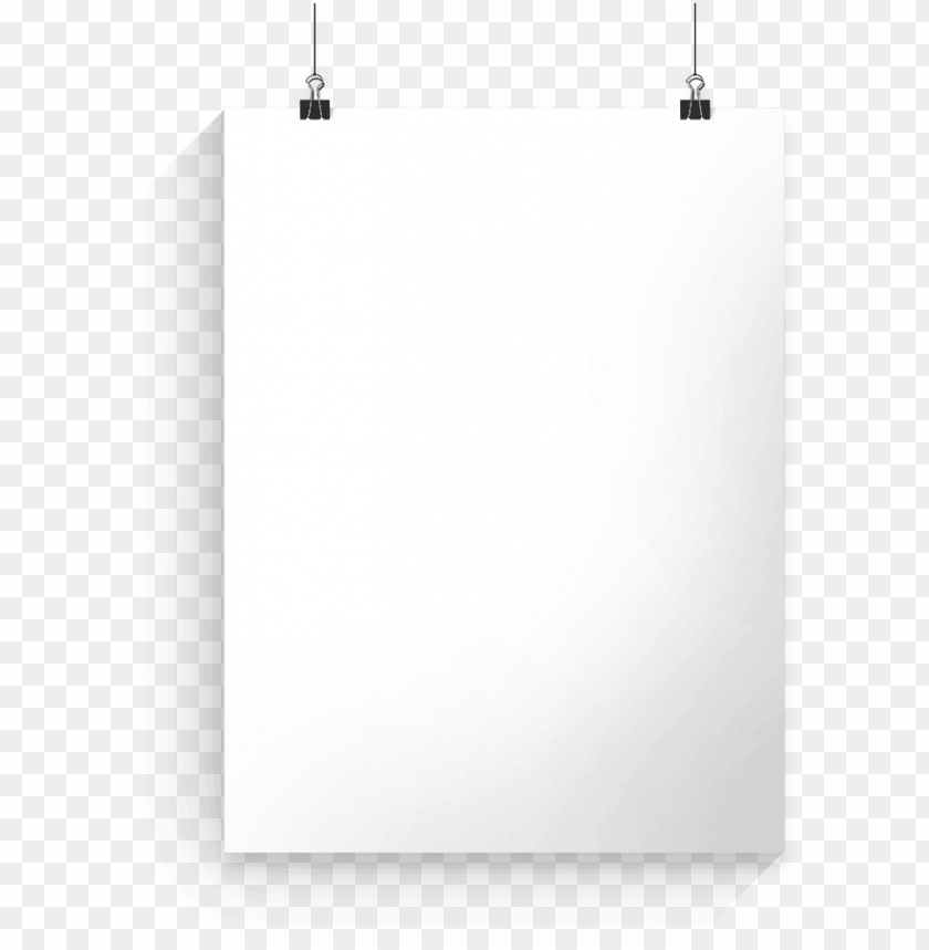 free PNG hanging white poster PNG image with transparent background PNG images transparent