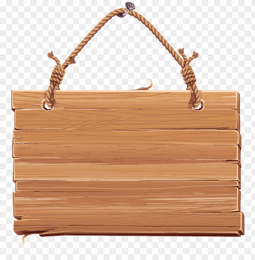 free PNG hanging wood board PNG image with transparent background PNG images transparent