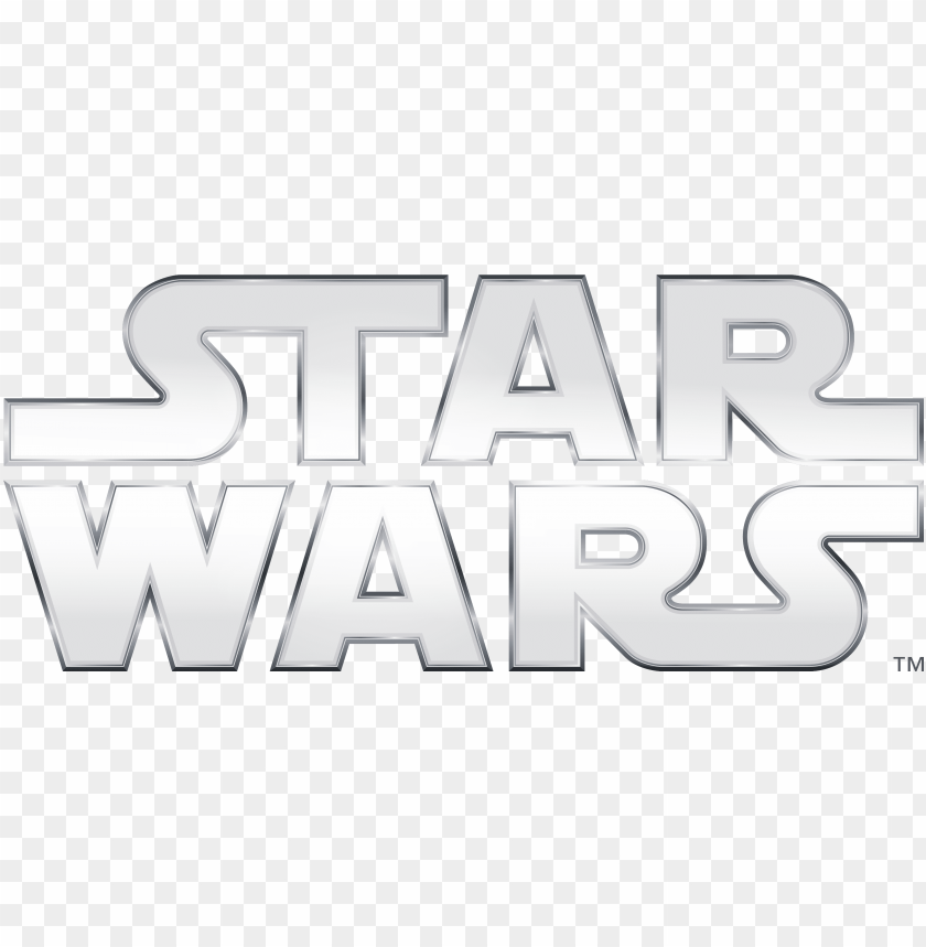 free PNG hantoms announce star wars night on sunday, january - star wars title white PNG image with transparent background PNG images transparent