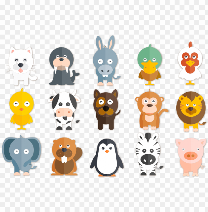 free PNG happy animals illustrations free vector and png the PNG image with transparent background PNG images transparent