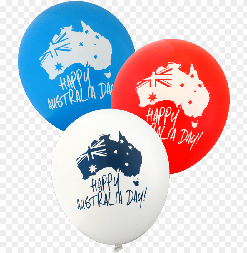 free PNG happy australia day balloons [1804] - australia day balloons PNG image with transparent background PNG images transparent