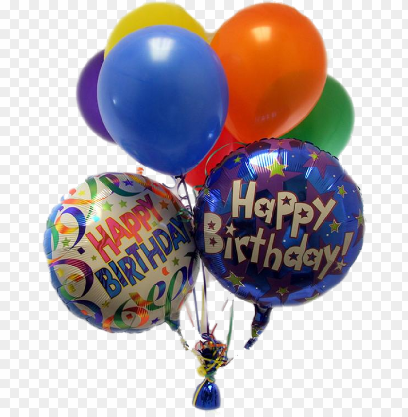free PNG happy birthday balloons png pic - happy birthday balloon PNG image with transparent background PNG images transparent