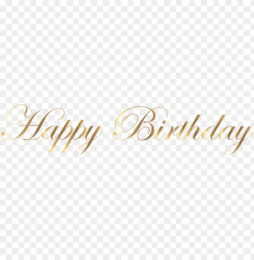 free PNG happy birthday png, happy birthday images, birthday - gold happy birthday PNG image with transparent background PNG images transparent