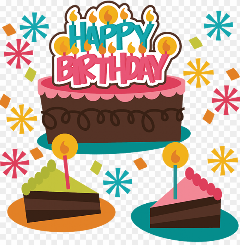 happy birthday svg birthday cake svg file birthday - happy birthday girl PNG image with transparent background@toppng.com
