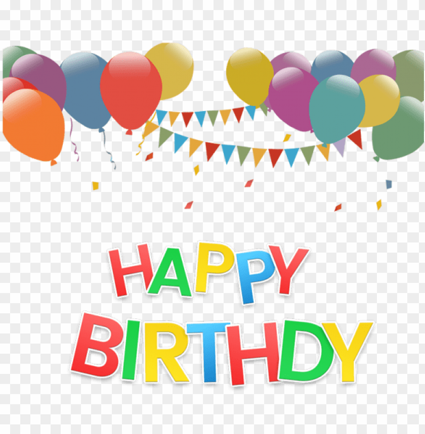free PNG happy birthday text effect with balloon png and psd, - happy birthday mug design PNG image with transparent background PNG images transparent