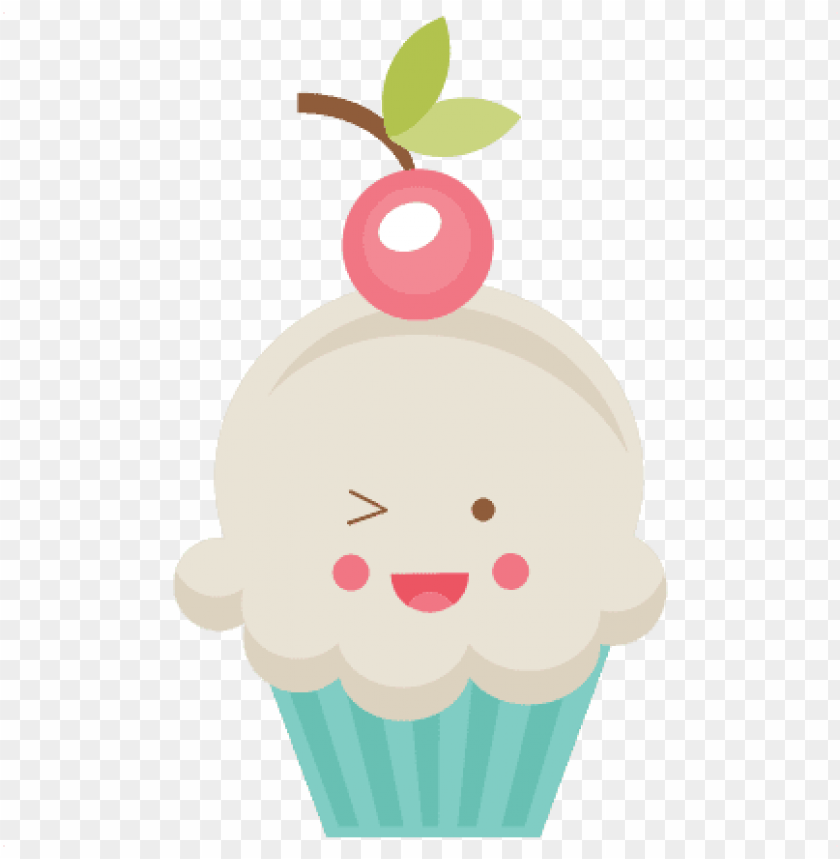 free PNG happy cupcake svg scrapbook cut file cute clipart files - cup cake cut PNG image with transparent background PNG images transparent