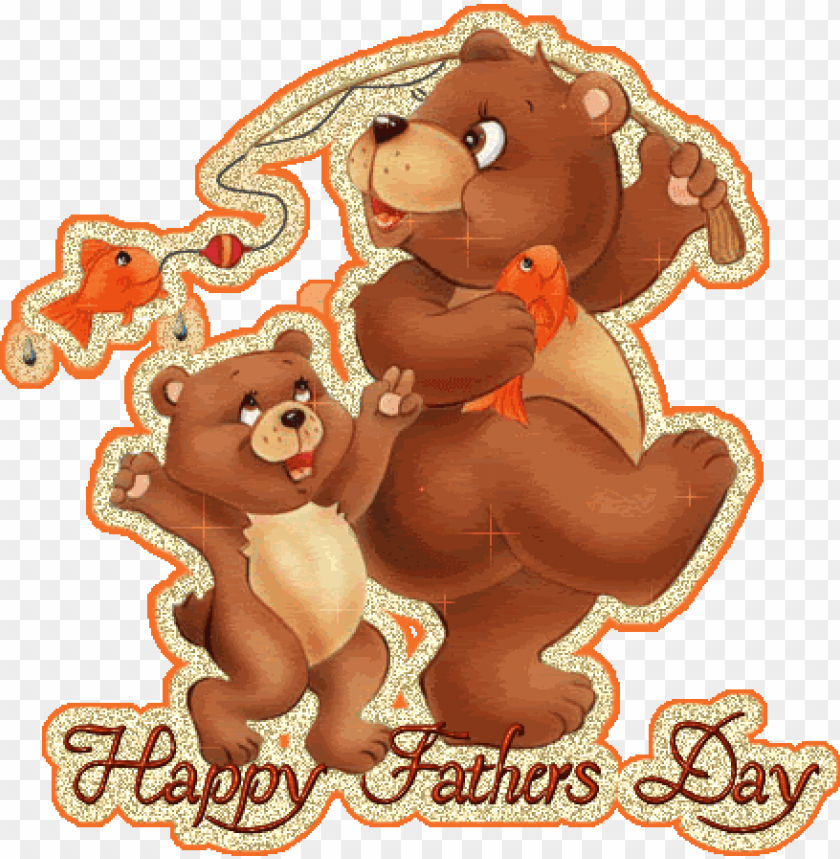free PNG happy father's day 3d picture - happy fathers day glitter PNG image with transparent background PNG images transparent