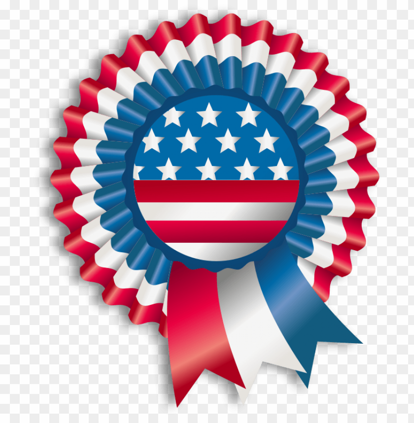 free PNG happy fourth of july ribbon PNG image with transparent background PNG images transparent
