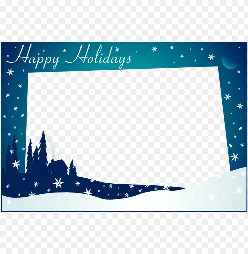 Happy Holidays Card Template from toppng.com