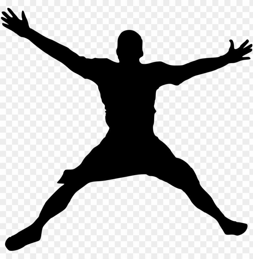 free PNG happy jump silhouette png - Free PNG Images PNG images transparent