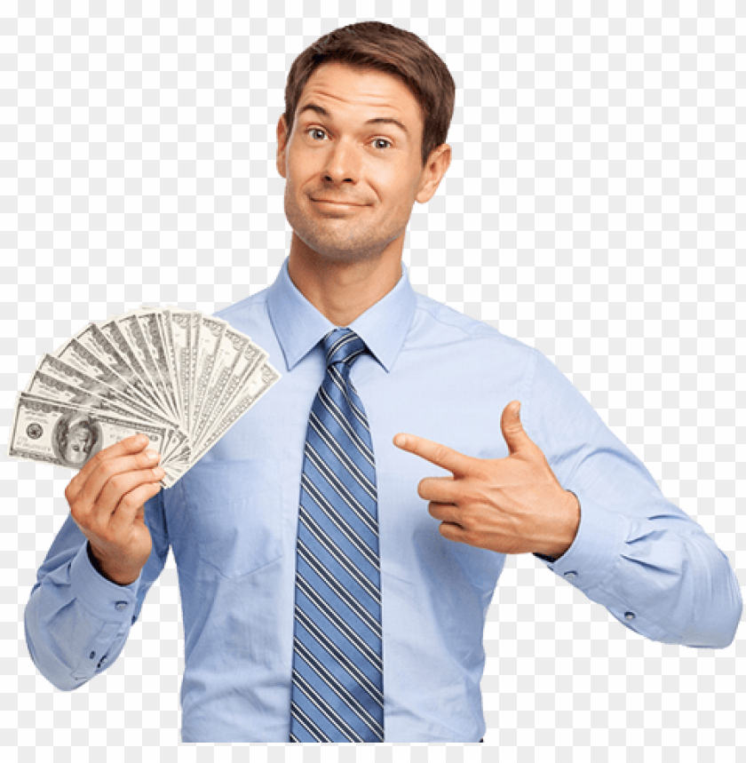 Happy Man Holding In His Hand Bundles Of Money Cash Man With Money Png Image With Transparent Background Toppng Large collections of hd transparent hand png images for free download. happy man holding in his hand bundles
