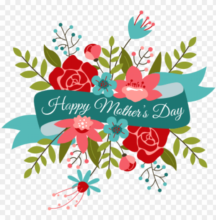 free PNG happy mothers day bouquet transparent  s - happy mothers day flowers PNG image with transparent background PNG images transparent