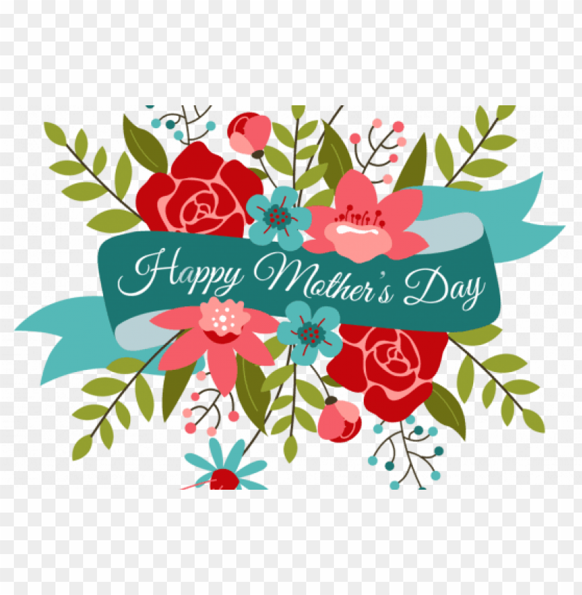 free PNG happy mother's day - happy mother's day flowers PNG image with transparent background PNG images transparent