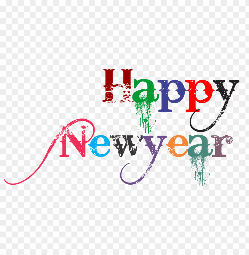 free PNG Download happy new year clipart png photo   PNG images transparent