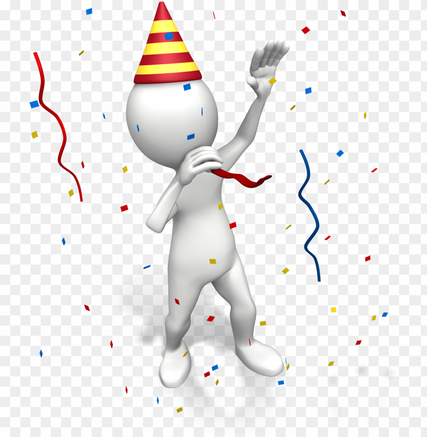 free PNG happy new year - party stick figures transparent PNG image with transparent background PNG images transparent