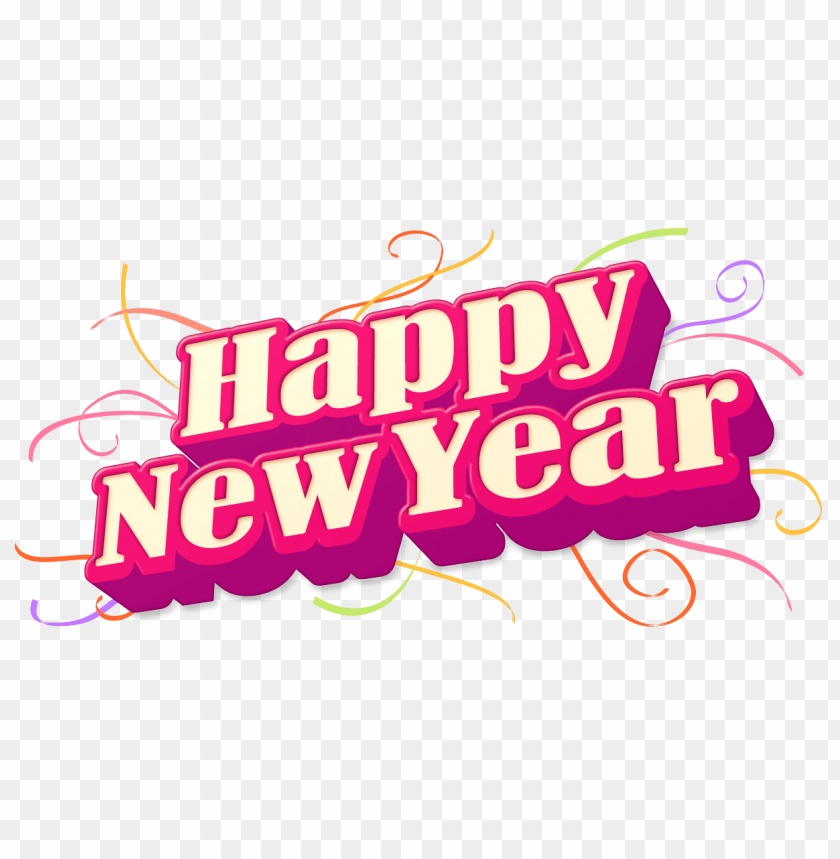 free PNG Download happy new year png pic clipart png photo   PNG images transparent