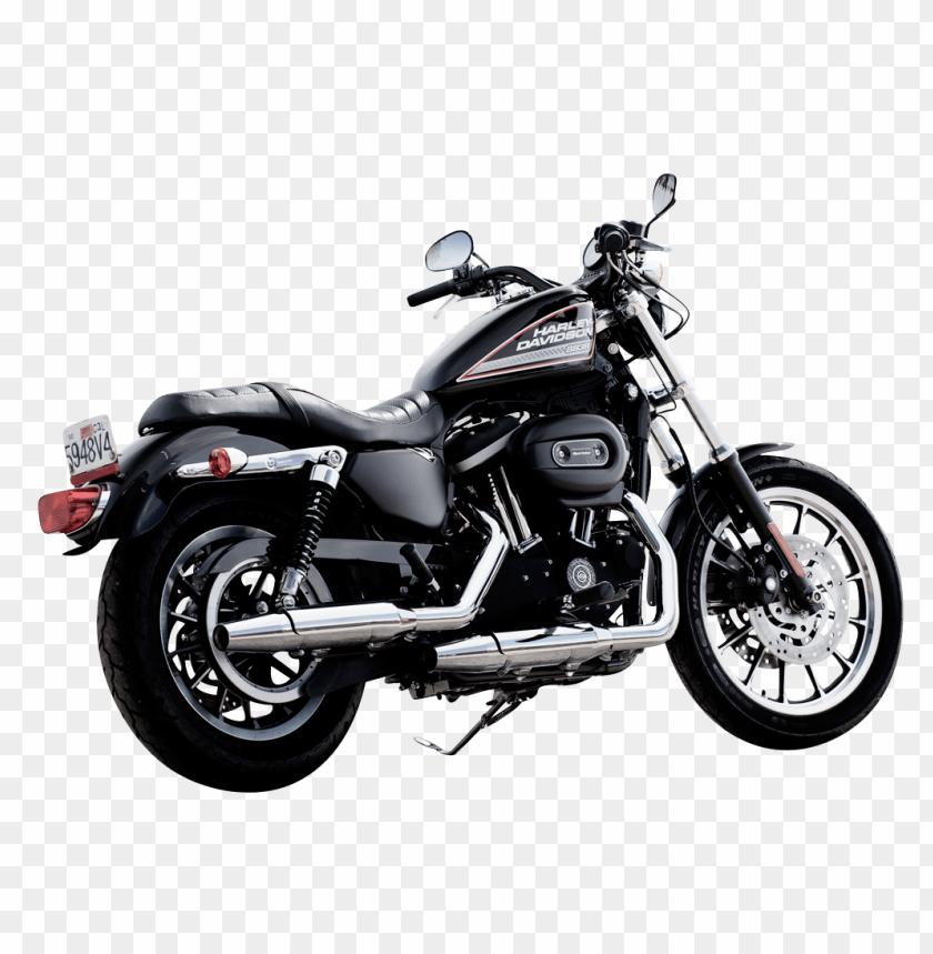 free PNG Download Harley Davidson Black Color Motorcycle Bike png images background PNG images transparent