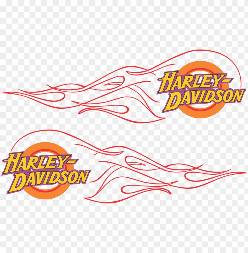 free PNG harley davidson flame logo vector - harley davidson flame logo PNG image with transparent background PNG images transparent