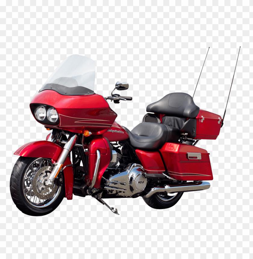 free PNG Download Harley Davidson Red Motorcycle Bike png images background PNG images transparent