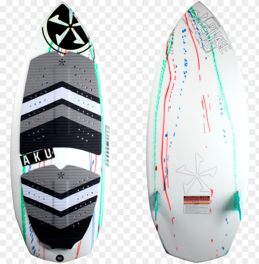 free PNG hase five aku v2 wake surfboard combined - phase 5 PNG image with transparent background PNG images transparent