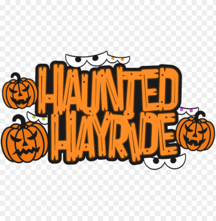 free PNG haunted hayride psa - haunted hayride clipart PNG image with transparent background PNG images transparent