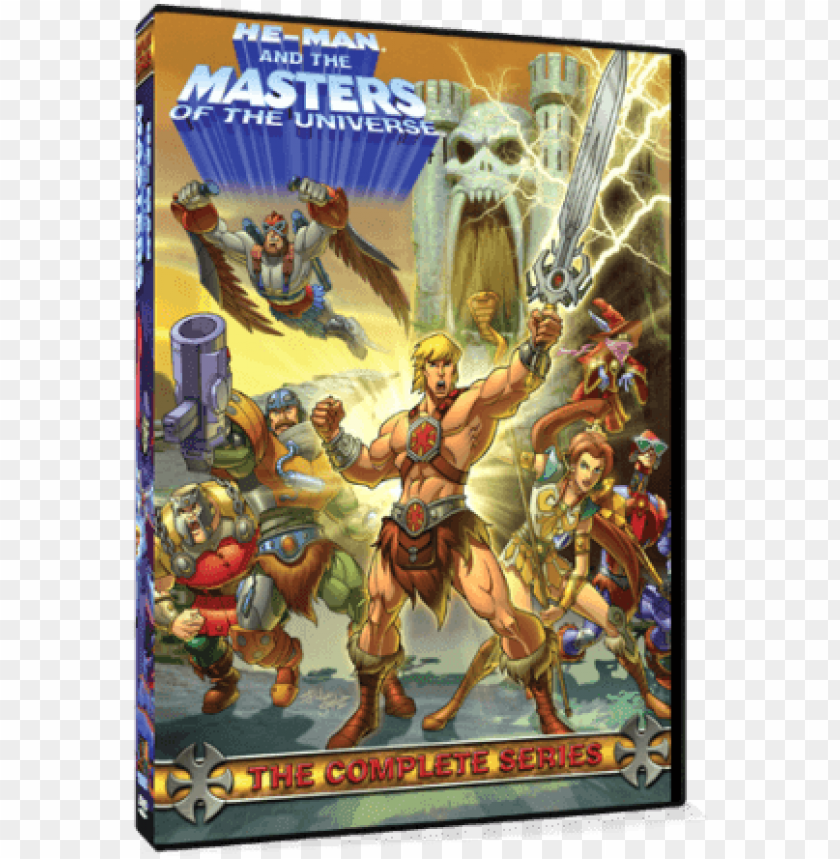 free PNG he-man and the masters of the universe complete series - he-man and the masters of the universe: the complete PNG image with transparent background PNG images transparent