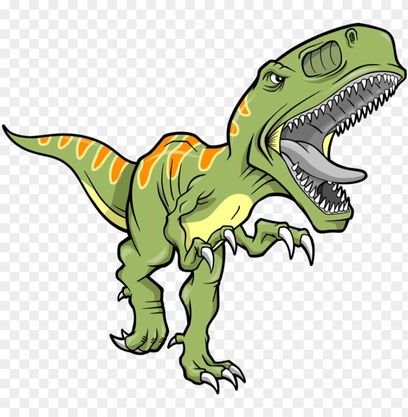 free PNG he may not be so cute,but he is a dinosaur - t rex clipart free PNG image with transparent background PNG images transparent