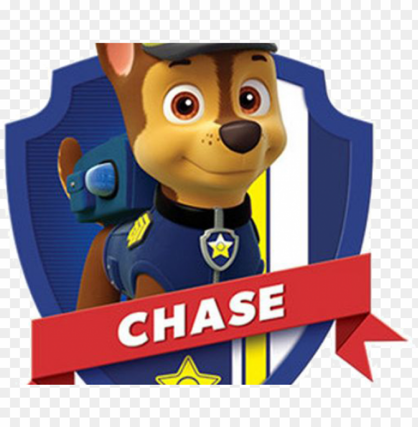 head clipart paw patrol - paw patrol characters chase PNG image with transparent background@toppng.com