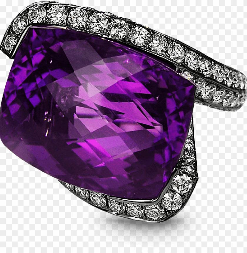 free PNG heart amethyst diamond ring - 25 ct cocktail party ring inspired 925 sterling silver PNG image with transparent background PNG images transparent