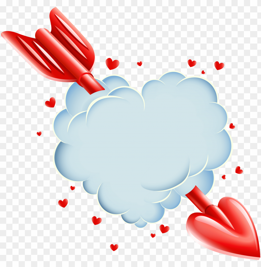 free PNG heart cloud clipart PNG image with transparent background PNG images transparent