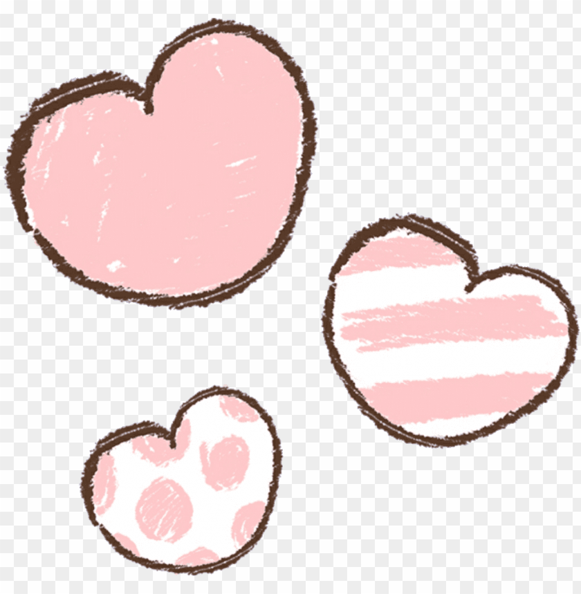 Heart Cute Png Vector Library Library Kawaii Cute Pink