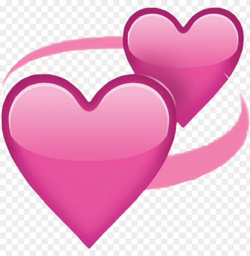 free PNG heart emoji pink girly tumblr iphone photography decora - heart emoji png heart stickers PNG image with transparent background PNG images transparent