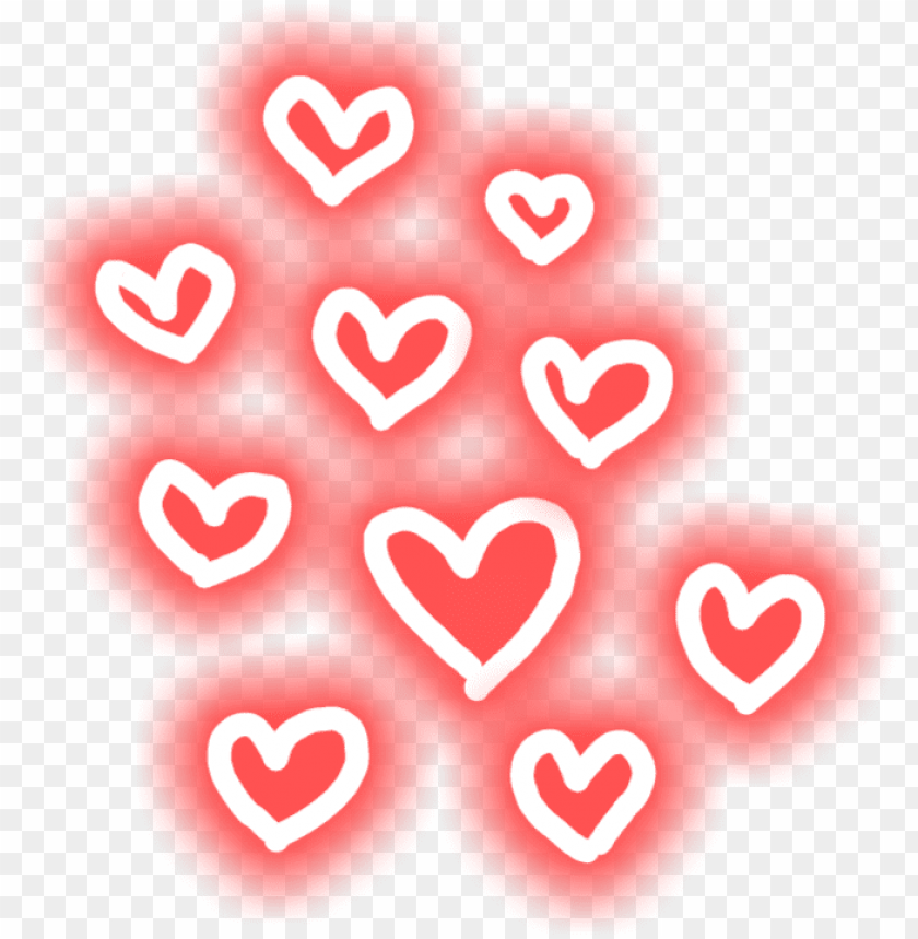 free PNG heart hearts glowing glowing hearts - heart PNG image with transparent background PNG images transparent